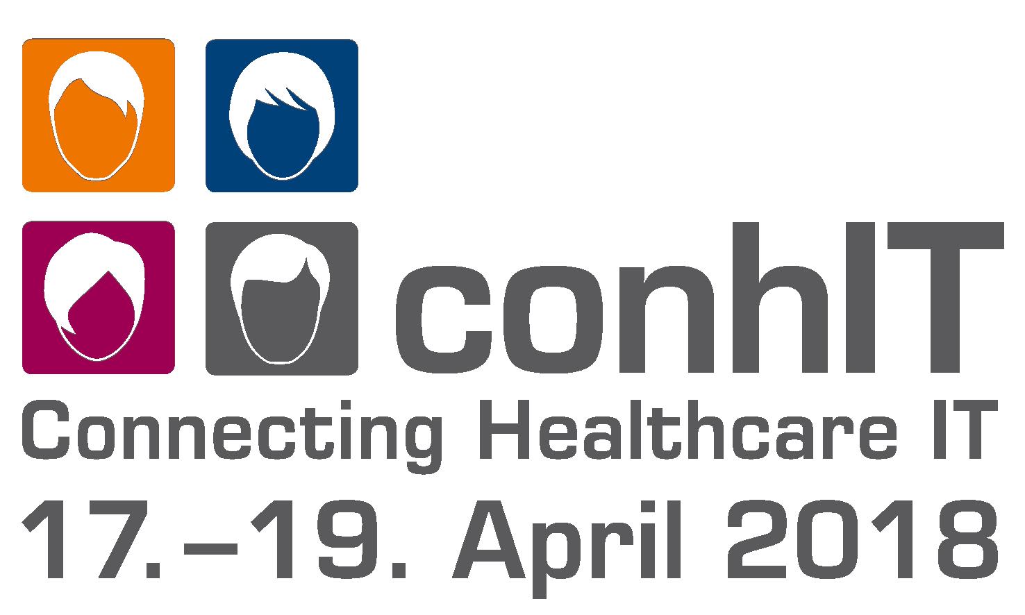 Besuchen Sie uns auf der conhIT 2018, Halle 3.2 Stand E-117.